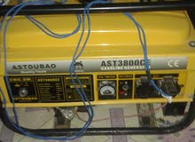 مولد كهربائي مستعمل و بحاله جيده 3800W