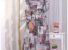 فستان سوفت يلبس من وزن40 حتى 90