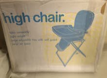 New baby High chair.....