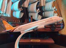 للبيع مجسم طائرة الليبية والأفريقية وشركات أخرى
