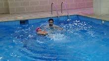 تعليم سباحة
