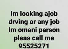 شاب عماني يبحث عن عمل
