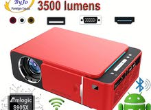 3D 4K Wireless projector للأفلام