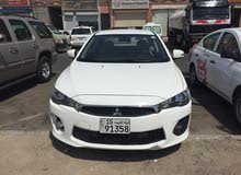 Renting Mitsubishi cars, Lancer 2017 for rent in Hawally city