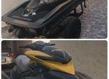 للبيع جتسكي سيدو 215 RXP بحاله ممتازه بدون حوادث سوبر جارج ماشي150ساعه قابله للزياده موديل 2007