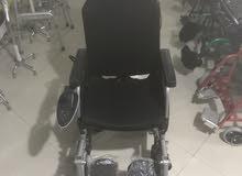 كرسي عجزه كهربائي جديد للبيع