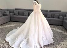 فستان جديد للبيع او الايجار