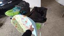 Baby foldable tub بانيو و غيار للاطفال