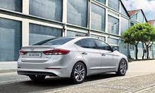 For a Day rental period, reserve a Hyundai Elantra 2017