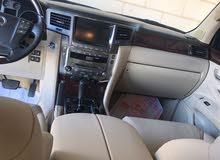 لكسز ال اكس 570 موديل 2009 خليجي نظيف جدا محول ل 2015 واستعمال شخصي مطلوب 13 الف