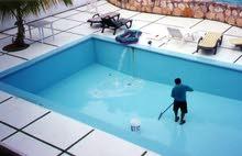 تنظيف تلميع تجديد أحواض السباحة وصيانة وتركيب المنظومة - خبرة 15سنة