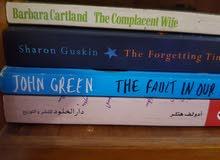 مجموعة كتب نظيفة جدا