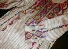 ثوب تطريز فلسطيني فخم جدا
