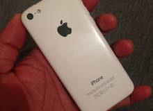 iphone5c مساحه 16 جيجا بحالة الفبريكا