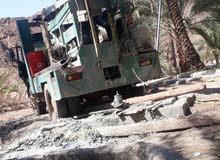 مرسيدس حفر آبار المياه في جميع أنحاء سلطنه عمان