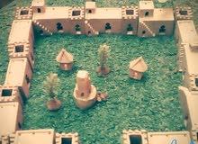 village en argile