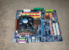 مذربورد + كيس كمبيوتر فاضي