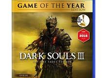 أريد شراء لعبة darksoul 3 الإصدار الكامل للعبه