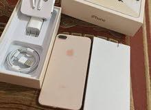 iphone 8 plus  gold avec chargeur kit w bakouh  64g importe