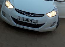White Hyundai Elantra 2012 for sale