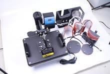 للبيع المكينة الحرارية للطباعة - Heat press machine sublimation 7 in 1
