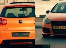 Orange Volkswagen GTI 2008 for sale