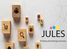 مطلوب موظفين من كلا الجنسين للعمل لدى شركة جولس للخدمات المطبعية والتصميم