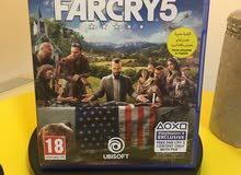 للبيع 2 لعبة بلايستيشن فور FARCRY5 و NEED FOR SPEED PAYBACK