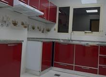 لايجار الشهري شقه غرفتين وصاله 3 حمام وبلكونه بدون فرش بدون شيكات