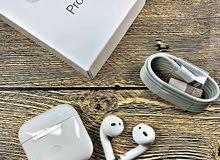 سماعات  الأصلية سماعات أذن آيربودز برو 5 بلوتوث أبيض AirPods Pro 5
