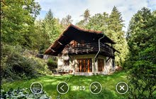 بيت ريفي رائع في غابات التشيك في أوروبا مع ارض 6114 متر مربع