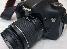 Canon 7D mark 1 weth 18-55mm kit lens professional camra - made in japan  Good w