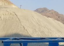 رمل كساره للبيع 0.5رمل للبيع الطن ريال واحد