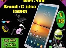 C Idea Cm2000 Plus 10 inch Tablet 4gb Ram 64gb Rom