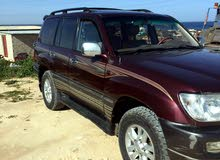 Maroon Toyota Land Cruiser 2004 for sale
