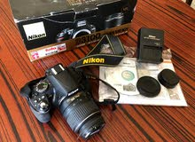 Nikon D3100 DIGITAL SLR CAMERA with AF-S DX VR 18-55mm LENS