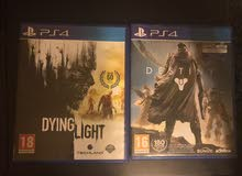 Dying lights -Destiny.  ps4