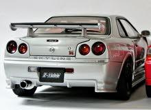 مطلوب سيارة نيسان سكاي لاينGTR 2000_1999