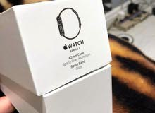 Apple WatchSpace Gray Aluminum Case with Black Sport Band