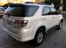 Toyota Fortuner car is available for sale, the car is in Used condition