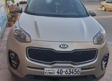 للبيع سيارة كيا سبورتاج 2017