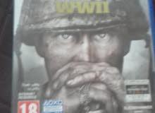 call of duty ww2  مستعمله لأسبوع واحد فقط