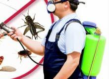 مكافحه الحشرات والقوارض والصراصير