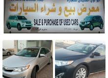 معرض أبو لؤي السنيدي للبيع سيارات من جميع الموديلات الكامريات