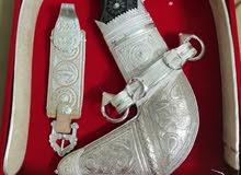 خنجر عمانيه فضه بالكامل