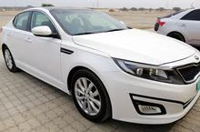 White Kia Optima 2015 for sale