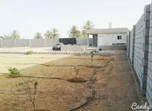 2000استراحة سكنية للبيع مساحة الارض 2000متر على واجة 50متر عل