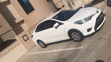 White Toyota Yaris 2014 for sale