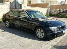Used condition BMW 750 2008 with 1 - 9,999 km mileage