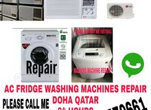 AC fridges washing repair and services please call me 55570661